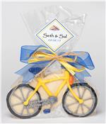 Bike Yellow Cookie Party Favor