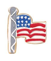 Flag USA Cookie Party Favor