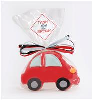 Car Red Cookie Party Favor