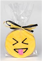 Emoji Face with tongue - Cookie Party Favor