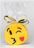 Emoji Kissy Face - Cookie Party Favor