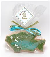 Fish Green and Blue - Cookie Party Favor
