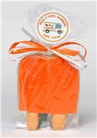 Ice Pop Orange - Cookie Party Favor