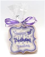 Birthday Message Cookie Party Favor