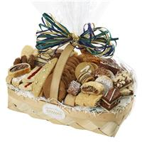 Sympathy pastry and cookie basket