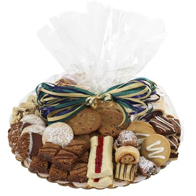 sympathy pastry and cookie tray