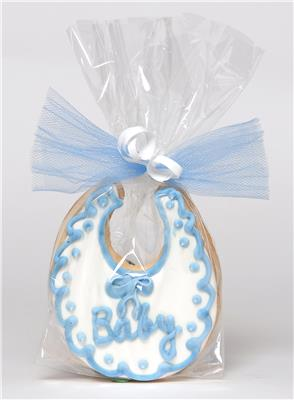 Baby Bib Cookie Baby Shower Favor Boy