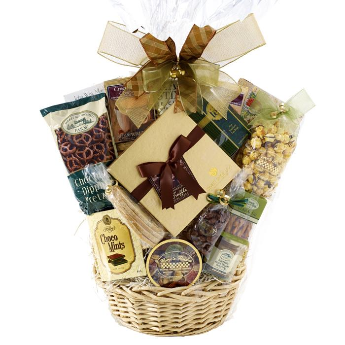 Long island sympathy gift basket